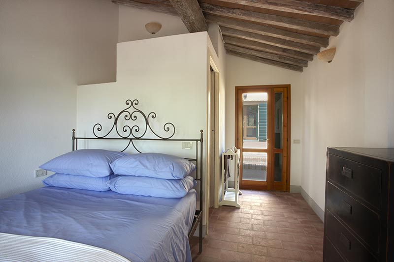 Lajatico - Luxury bedroom in the Bakers Cottage