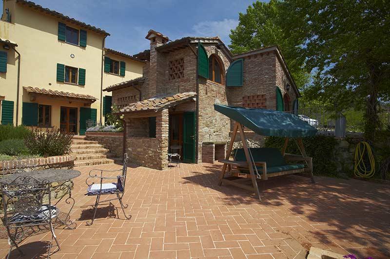 Villa Marae Tuscan stone patios